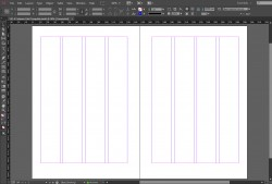 indesign A5 grid template by crsindesigntemplates