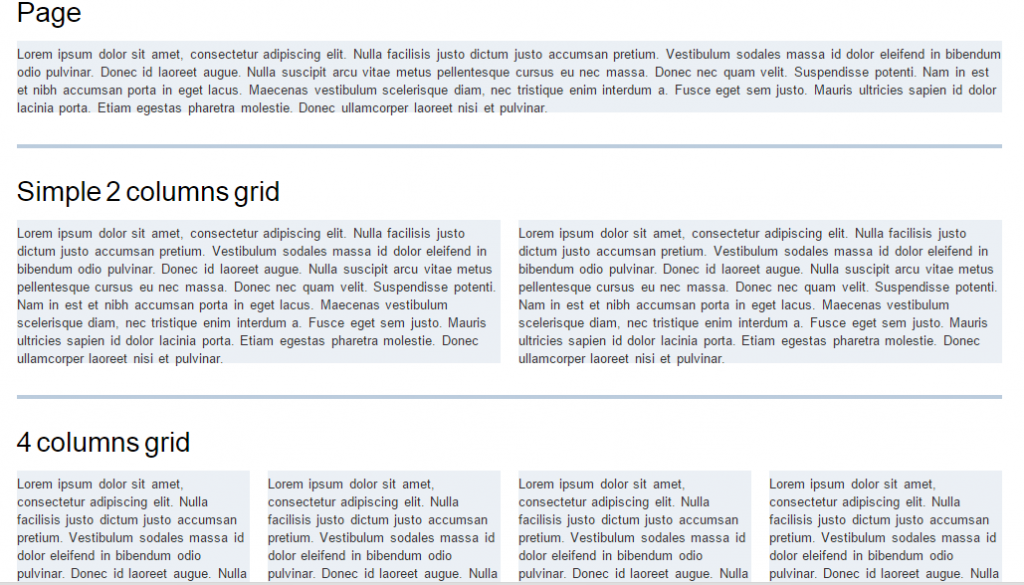 css framework built with baseline grids and typography standards