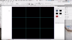 designing to a grid with indesign