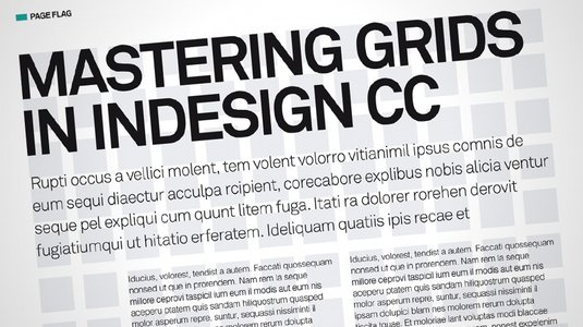 Creating Magazine Grids With Indesign The Grid System