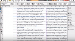 learning typography with adobe indesign