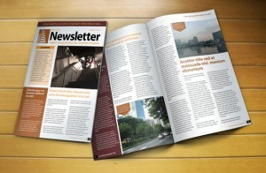 free newsletter template for indesign