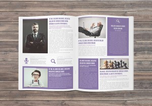 a free newsletter indesign template (multipurpose newsletter)