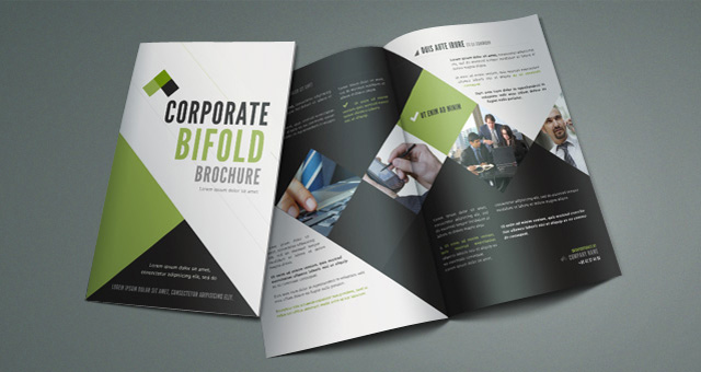 Awesome Corporate BIfold Brochure Awesome Design