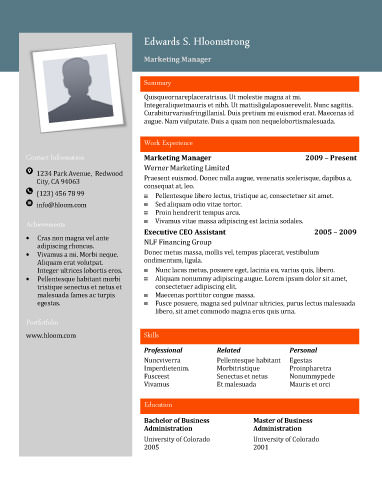 free resume templates for word the grid system With hloom free resume templates