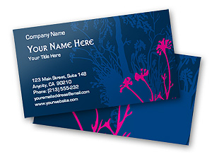 Free business cards templates the grid system free online pink flowers business card template reheart Image collections