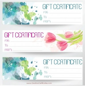 PrintablePretty Flowers Gift Card