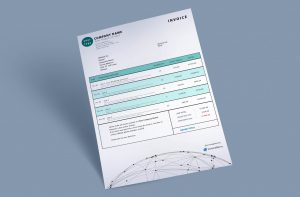 invoice template spheretech by invoiceberry