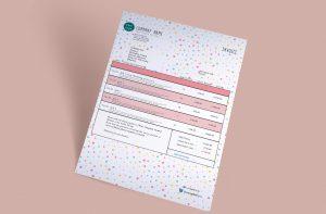CreativeDots gimp invoice template