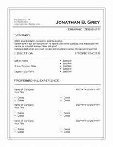 Grey box resume template by TheGridSystem