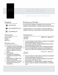 Outside resume template by TheGridSystem