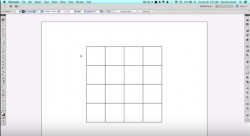 creating a grid with adobe illustrator