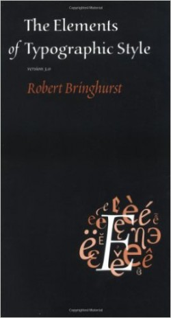 elements of typographic design book