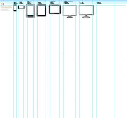 web design grid template for illustrator