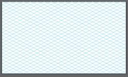 isometric grid template for illustrator