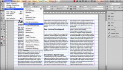 creating and using a baseline grid with adobe indesign