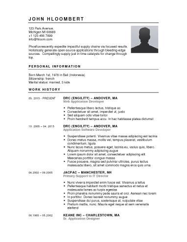 Free Resume Builder Websites and